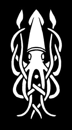 squid ~ excellent design for a knight's shield!