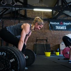 Coach @julietorps putting in work last week with the @crossfit total. It's Tuesday guys get to work! #crossfit #crossfitthames #crossfituk #crossfittotal by milolilo
