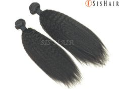 Virgin hair has never been dyed, bleached, permed or straightened. The cuticles are kept intact and all the hairs run in the same direction. Brown To Blonde, Black And Brown, Peruvian Hair Weave, Hair Products Online, Hair Weft, 100 Human Hair, Virgin Hair, Weave Hairstyles, Kinky