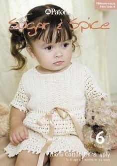 Album Archive - Patons - 3414 - Sugar and Spice Kids Knitting Patterns, Knitting For Kids, Free Knitting, Crochet Patterns, Crochet Baby, Knit Crochet, Knitted Baby, Crochet Books, Rowan Yarn