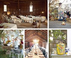 Rustic Party Decor by Toodleson, via Flickr