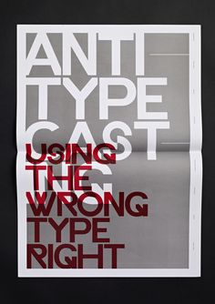 Typographic Revolt - By Ryan Atkinson