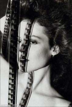 Helmut Newton. Portrait of Sigourney Weaver ●彡
