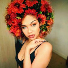Black Man Paints Nature & The Universe Into Black Women's Natural Hair http://www.shorthaircutsforblackwomen.com/black-man-paints-nature-the-universe-into-black-womens-natural-hair/