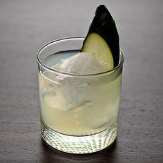 Cucumber, Basil & Lime Gimlet - Vodka Cocktail
