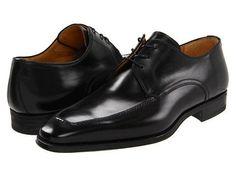 5758831b2bff Magnanni Mens Black Pardo Leather Lace Up Oxfords Shoes Size 15 Lace  Oxfords