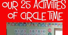 Many providers have been asking about Circle Time routines. Ours is pretty involved, but we do NOT do everything every day . It depends upon. Educational Activities For Toddlers, Circle Time Activities, Calendar Activities, Preschool Schedule, Preschool Prep, Preschool Writing, Preschool Special Education, Preschool Learning Activities, Preschool Lessons