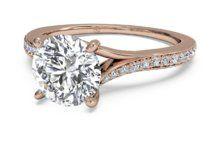 Modern Bypass Micropavé Diamond Band Engagement Ring – 2490