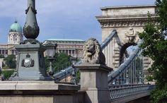 Budapest. Puente de las Cadenas.