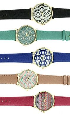 LIMITED Aztec watches...