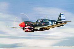 P-40 flying tiger
