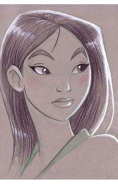 Toned Paper Mulan