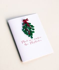 Naughty Christmas Card For Husband Boyfriend by ofthingspretty