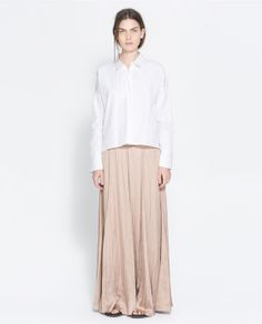 ZARA - WOMAN - LONG FLOWY SKIRT