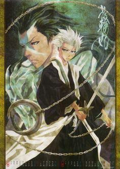 Toshiro or Hyorinmaru... Which one is cooler?