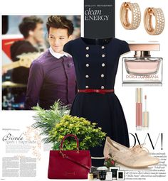 """A date with Louis Tomlinson"" by yamibel-styles ❤ liked on Polyvore"