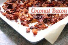 Coconut Bacon by Veggietorials