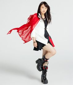 snsdandhp:   MORNING MUSUME (Morning Musume '14) NEW PROFILE. Riho looks really mature in this one.