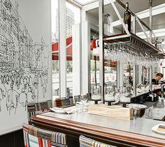 LEMAYMICHAUD | INTERIOR DESIGN | ARCHITECTURE | MONTREAL | RESTAURANT | Taverne F