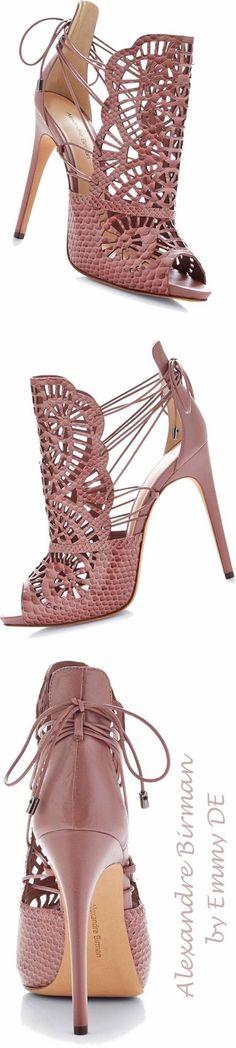 Alexandre Birmann Cut-Out Python Sandals shoes ( booties ) Fab Shoes, Pretty Shoes, Crazy Shoes, Beautiful Shoes, Cute Shoes, Me Too Shoes, Shoe Boots, Shoes Sandals, Python