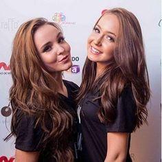 """""""Temos uma relação de irmãs"""", diz dublê que faz gêmea de Larissa Manoela"""