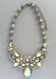 Luxor Statement Necklace - slightly over budget but maybe would look nice with the bride's borealis sash?