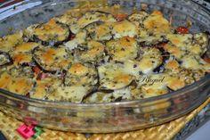 Mi Diversión en la cocina: Berenjenas con Tomates y Queso Gratinado al Horno