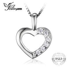 JeweryPalace Heart Love Wedding Engagement Pendant Neckalaces 43cm 925 Sterling Silver Fine Jewelry Necklace Chain For Women //Price: $9.95 & FREE Shipping // Get it here ---> https://bestofnecklace.com/jewerypalace-heart-love-wedding-engagement-pendant-neckalaces-43cm-925-sterling-silver-fine-jewelry-necklace-chain-for-women/    #Wedding_jewellery