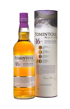 Tomintoul 16 Year Old single malt whisky available from Whisky Please.