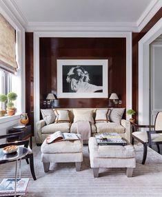 Diana Ross, Drawing Room Interior Design, Best Interior Design, Interior Decorating, Luxury Interior, Decorating Ideas, Decor Ideas, Manhattan Apartment, York Apartment