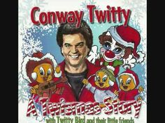 "Conway Twitty's A Twistmas Story is a children's Christmas album on which he is joined by his granddaughter Christi Prater, who portrays ""Twitty Bird,"" a character given to calling Christmas ""Twismas"" Christmas Cds, Christmas Albums, Childrens Christmas, Christmas Videos, Country Christmas, Country Music Videos, Country Music Stars, Favorite Christmas Songs, Favorite Holiday"