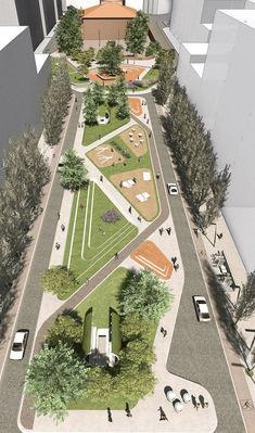 88 Incredible Urban Landscape Architecture Designs https://www.futuristarchitecture.com/13225-urban-landscape-architecture.html
