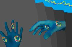 Nightmare's hands. Hands are a recurring motif in Rebellion. Nightmare's hands, Homura's hands clinging to the mural of Madoka on the wall, Madoka's injured hands when saving Homura, and lastly, Homulilly's back ribbon.