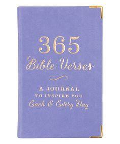 Look at this #zulilyfind! Lavender '365 Bible Verses' Journal #zulilyfinds