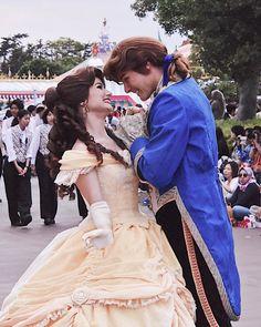 Disney Fun, Disney Magic, Disney Parks, Disney Movies, Walt Disney, Prince Adam, Belle Cosplay, Tanabata, Disney Face Characters