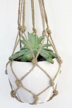 macrame/macrame anleitung+macrame diy/macrame wall hanging/macrame plant hanger/macrame knots+macrame schlüsselanhänger+macrame blumenampel+TWOME I Macrame Natural Dyer Maker Educator/MangoAndMore macrame studio Macrame Hanging Planter, Hanging Planters, Hanging Baskets, Real Plants, Air Plants, Indoor Plants, Dulux Valentine, Colorful Shoes, Macrame Projects