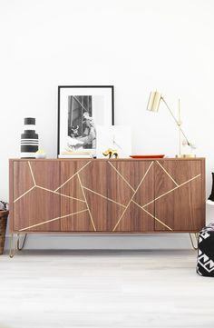 This IKEA hack sideboard is the easiest DIY.