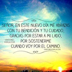 oracion buenos dias nuevo dia Dios