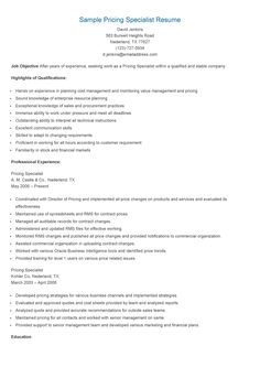 Sample Retention Specialist Resume  Resame