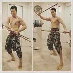 Samurai & Ninja Pants #ninja pants, #samurai pants