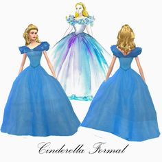 Mod The Sims - Cinderella & Prince Kit: Disney Fairytale Collection Pt. 10