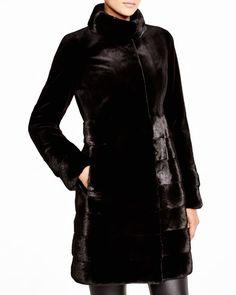 Maximilian Sheared Mink Coat - Bloomingdale's Exclusive
