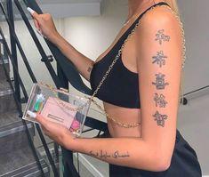Red Ink Tattoos, Girly Tattoos, Little Tattoos, Pretty Tattoos, Mini Tattoos, Cute Tattoos, Body Art Tattoos, Small Tattoos, Arabic Tattoos