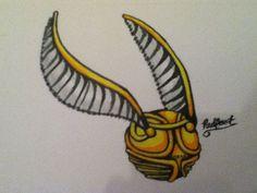 golden snitch drawing - Google zoeken
