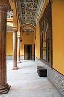 Interior of the City Hall of Sanlucar de Barrameda, Cadiz, Andalucia, Spain