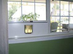 Window Mounted Cat Door