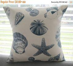 SALE Pillow Cover Pillow Beach Decor Decorative by PillowsByJanet