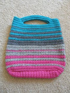 Crochet  #crochet knitting purse bag