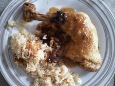 Recette de Cuisses de poulet aux pruneaux