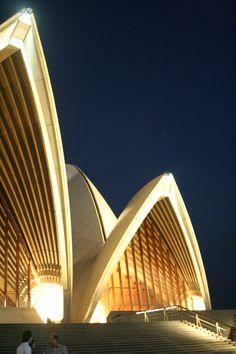 Sydney Opera House at Night - Sydney, Australia Sydney Australia, Australia Travel, Western Australia, Tasmania, Melbourne, Brisbane, Wonderful Places, Beautiful Places, Australian Continent